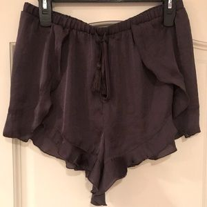 Free People Silk Shorts